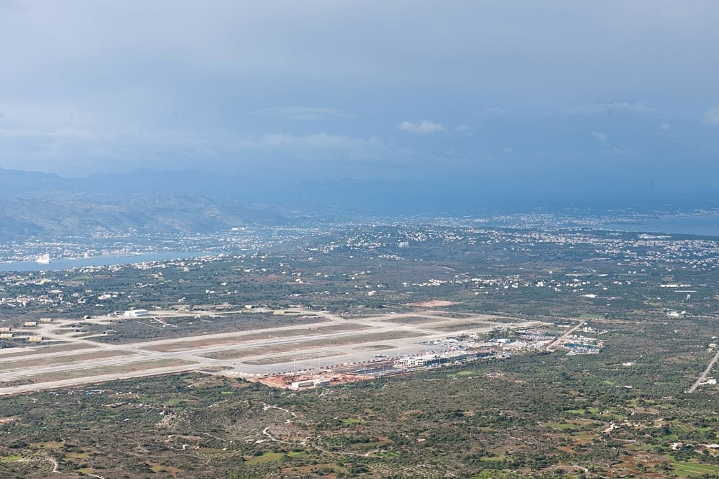 Chania Old Airport Overview