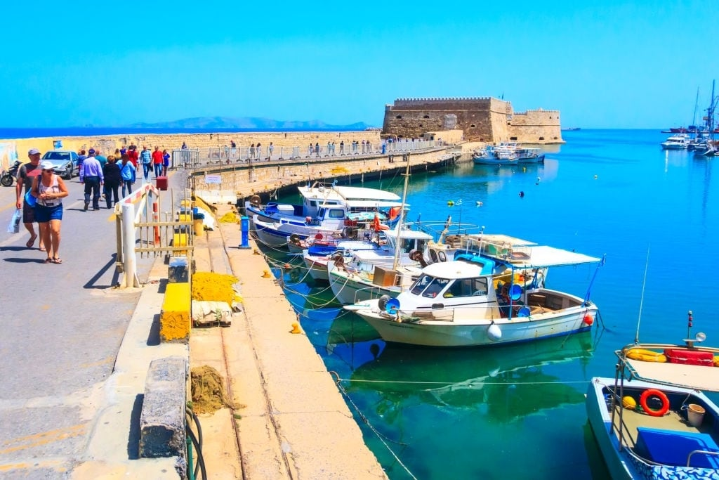 Transfer from Heraklion Airport Crete